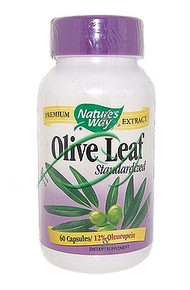 Olive Leaf 60 Capsules From Nature's Way