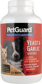 Yeast & Garlic Wafers 320 WAFER By Petguard