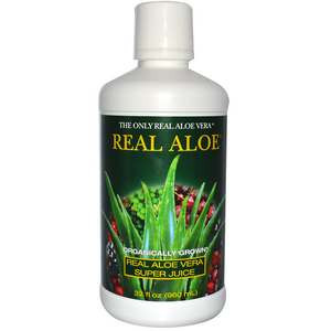 Aloe Vera Super Juice 32 fl oz (960 ml) From Real Aloe