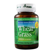 Wheat Grass 500mg 100 tablets from Pines International