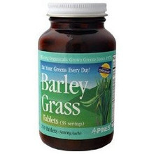 Barley Grass 500 mg 500 Tablets From Pines International