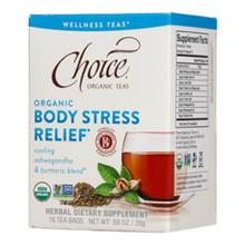 Wellness Body Stress Relief Tea 16 BAG By Choice Organic Teas