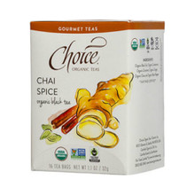 Chai Spice 16 BAG By Choice Organic Teas