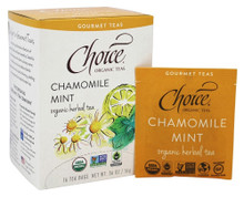 Chamomile Mint 16 BAG By Choice Organic Teas