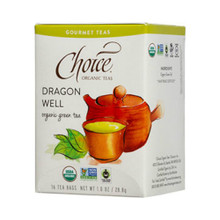 Dragon Well 16 BAG By Choice Organic Teas
