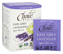 Earl Grey Lavender 16 BAG By Choice Organic Teas