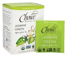 Jasmine Green 16 BAG By Choice Organic Teas