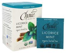 Licorice Mint 16 BAG By Choice Organic Teas