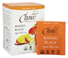 Mango Black 16 BAG By Choice Organic Teas
