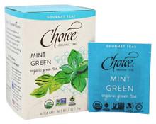 Mint Green 16 BAG By Choice Organic Teas