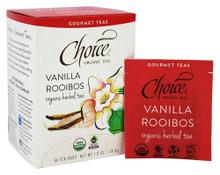 Vanilla Rooibos 16 BAG By Choice Organic Teas