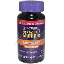My Favorite Multiple Energizer Multivitamin 60 Tablets From Natrol