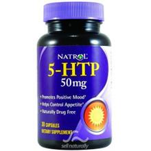 5-HTP (5HTP) 50mg 30 caps from Natrol