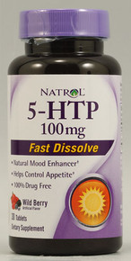 5-HTP 100MG Fast Dissolve 30 Tablet  From Natrol
