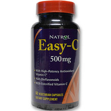 Easy-C 500 mg with Bioflavonoids 60 Vegetarian Capsules Natrol