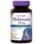 Melatonin 10mg HFF FD Citrus Punch 100 TABLET By Natrol