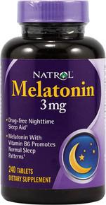Natrol Melatonin 3Mg 240 Tab