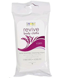 Revive Body Cloth Lavender Cleansing Calm 12 CT By Aura Cacia