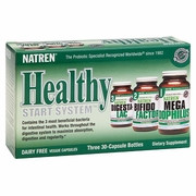 Healthy Start System Dairy Free 30 Capsules x 3 Bottles Natren