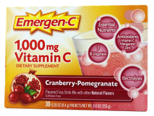Emer'gen-C Health & Energy Booster Cranberry Pomegranate 30 CT By Alacer
