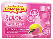 Emer'gen-C Pink Lemonade 30 CT By Alacer