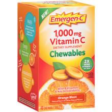 Emer'gen-C Orange Chewables 40 TAB By Alacer
