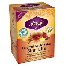 Yogi Tea Slim Life Caramel Apple Spice 16 Tea Bags 1.12 oz (32 g)