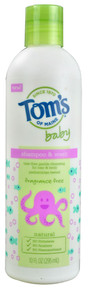 Baby Shampoo & Bodywash Fragrance Free 10 OZ From TOM'S OF MAINE