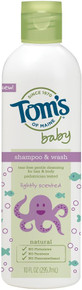 Baby Shampoo & Bodywash Lightly Scented 10 OZ From TOM'S OF MAINE