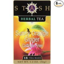 Sunny Orange Ginger Tea 18 BAG By Stash Tea