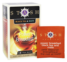 Power Breakfast Black Tea & Mate 18 BAG By Stash Tea