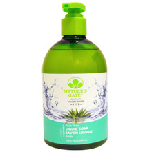 Aloe Velvet Moisture Liquid Soap 12.5 OZ By Nature'S Gate