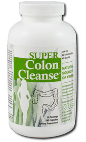 Super Colon Cleanse with Herbs and Acidophilus 240 Capsules From Health Plus