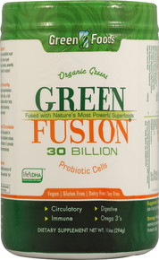 Green Fusion (30 Serving) 10.4 oz  From Green Foods Corporation