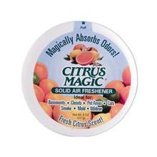 Solid Air Freshener Fresh Citrus Scent 8 oz 1 Air Freshener From Citrus Magic