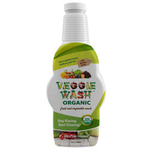 Organic Veggie Wash soaker Bottle 32 OZ By Veggie Wash