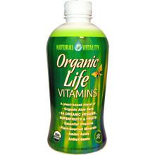 Natural Vitality Liquid Organic Life Vitamins 30 oz. From Peter Gillham's