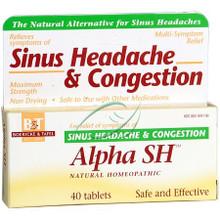 Alpha SH Blister Pak 40 Tablets From Boericke & Tafel