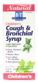 Children's Cough & Bronchial Syrup 4 oz Boericke & Tafel Homeopathic