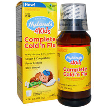 4 Kids Complete Cold 'N Flu 4 OZ By Hylands