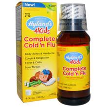 4 Kids Complete Cold 'N Flu 4 OZ By Hylands