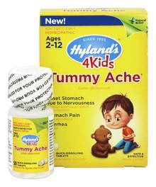 4 Kids Tummy Ache 50 TAB By Hylands