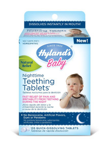 Baby Nighttime Teething 135 TAB From HYLANDS