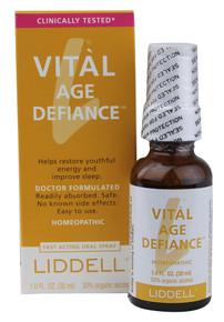 Liddell Vital Age Defiance Oral Spray 1.0 fl oz (30 ml)