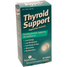 Thyroid Support 60 Tablets From NatraBio