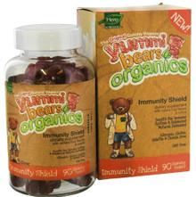 Organic Yummi Bears Immunity Shield 90 ct From Hero Nutritional