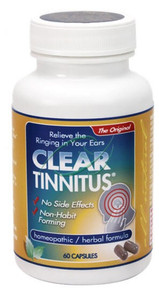 Clear Tinnitus 60 Capsules From Clear Products
