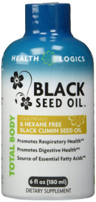 Black Seed Oil 6 OZ By Health Logics