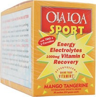 Sport Effervescent Vitamin Drink Mango Tangerine 30 Packets From Ola Loa Products