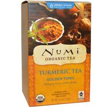 Turmeric Tea Golden Tonic 12 BAG From NUMI TEAS